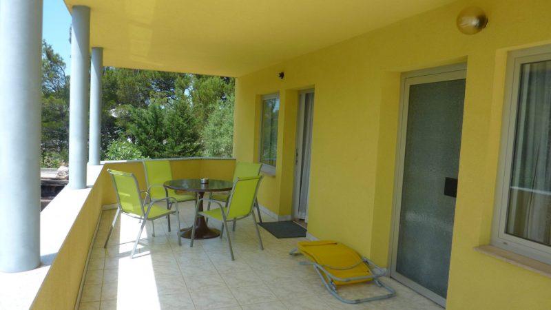 Apartment 1 Balkon