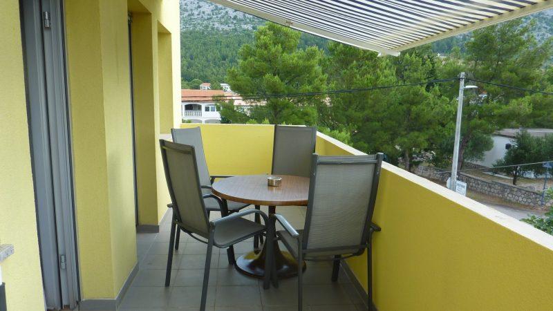 Apartment 4 Balkon
