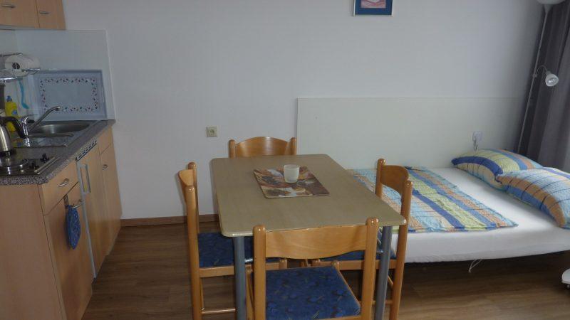 Apartment 4 Esszimmer